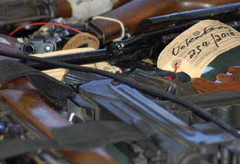 740 firearms stolen or lost by police | News Article
