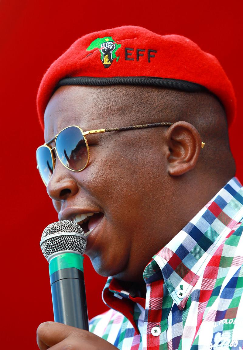 Economic Freedom Fighters could make a dent in the polls'