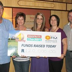 SUCCESSFUL SHOPRITE CHECKERS OFM CHIP 4 CHARITY 2013