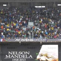 Rainbow nation at FNB stadium