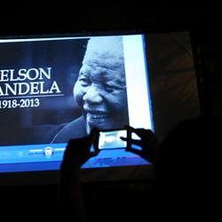 Thousands gathered for Madiba's memorial service