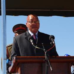 Jacob Zuma delivers keynote address at Madiba's memorial