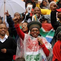 Supporters speak of their love for Madiba