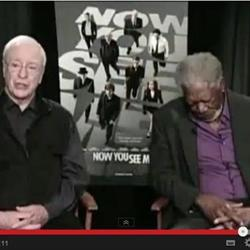 Video: Morgan Freeman falls asleep during live TV interview
