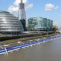 Excellent idea: £600m floating bike path on the Thames