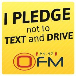 OFM: Pledge 'not to text and drive'