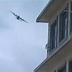 'Mystery aircraft' above stricken Lagos building was military plane: Police