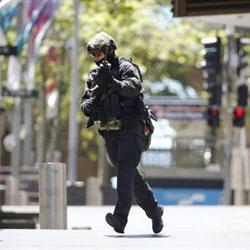 Gunman takes people hostage in Sydney cafe