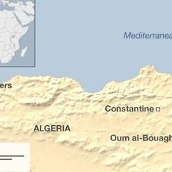 Algerian military plane crashes killing more than 100