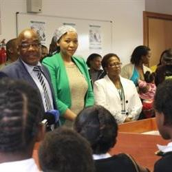 Bfn school girls first to receive HPV vaccination