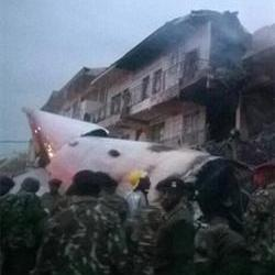 Plane with 4 on board crashes in Nairobi, one body recovered