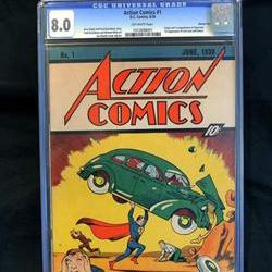 Record price for first comic book featuring Superman