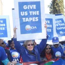 Zille: Getting the tapes is the end of the beginning
