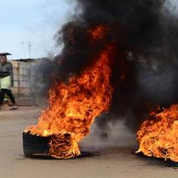 Buses set alight in protest in Nyanga