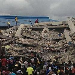 'Five SA groups at Nigerian church during collapse'