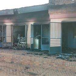 NC hospital not operational after fire