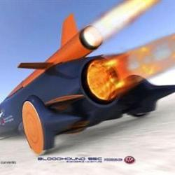 Bloodhound technicians get model car kit for Christmas