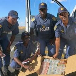 FS police confiscate suspected stolen money worth R981 380