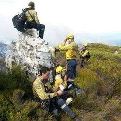Fires also raging in the Overberg