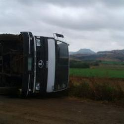 45 injured in Fouriesburg accident