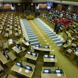 Parliament's head of protection services suspended