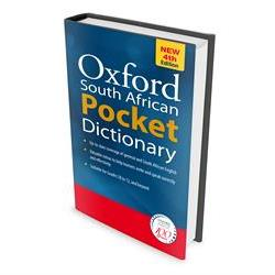 New words for Oxford SA Dictionary's fourth edition
