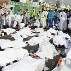 More than 700 die in Mecca stampede