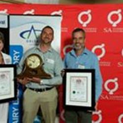 Heilbron dairy farmers named best in the Free State