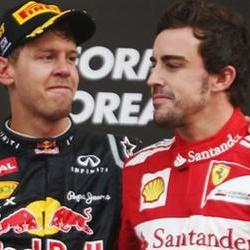 Alonso admits Vettel is difficult to beat