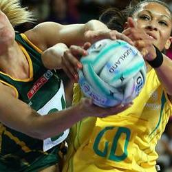 The South African Invitational netball wins the Diamond Challenge netball series