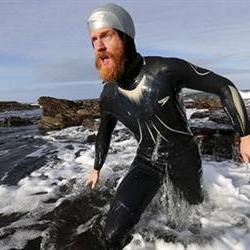 32-Year Zimbabwean born Conway swims the length of Britain