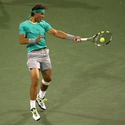 Nadal knocks Federer out of BNP Paribas Open