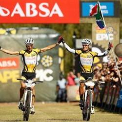 Platt, Huber stretch Cape Epic lead