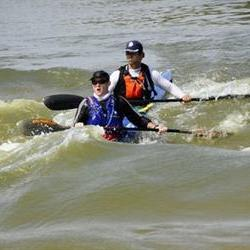 Split second finish in Green Kalahari Canoe Marathon