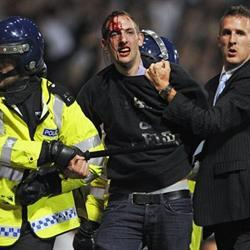 European footballs nightmare weekend of football hooligans