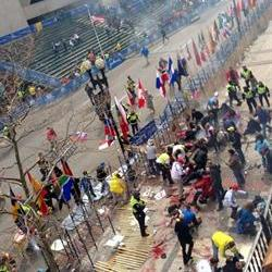 World shocked by Boston Blasts