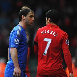 Saurez apologises for biting Ivanovic