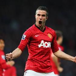 Van Persie hat-trick fires Manu to 20th Premier League title