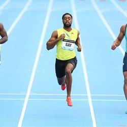 Tyson Gay wins 100 at Adidad Grand Prix in NY