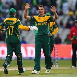 Ryan McLaren wicket sends Proteas into Champions Trophy semis