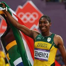 Semenya wins on her return to the track