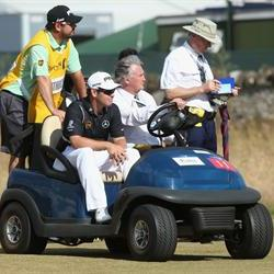 Oosthuizen withdraws from the Open