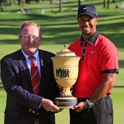 Tiger wins the World Golf Championships-Bridgestone Invitational