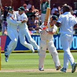 The Proteas beat Australia by 231 runs to level the series