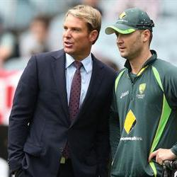 Shane Warne joins Australia ahead of the 3rd Test