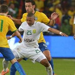 The Samba Boy thump Bafana 5-0