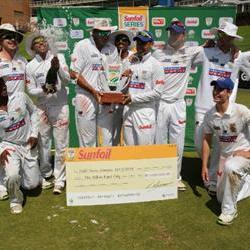 Cobras thump Lions to win Sunfoil Series