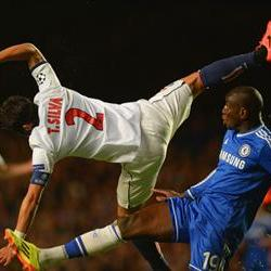 Demba sends Chelsea into the semis
