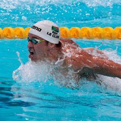 Le Clos takes centre stage in the freestyle