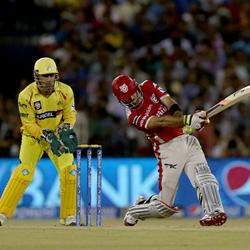 Maxwell destroys Chennai in the IPL